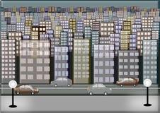 Urban Life Illustration Stock Image