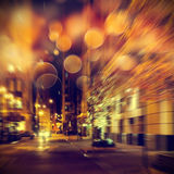 Urban life at night Royalty Free Stock Photography