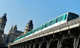 Urban Life-Paris Metro Royalty Free Stock Image