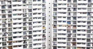 Urban life symbol, populous house. Photo Royalty Free Stock Photography