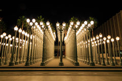 Urban light, Los Angeles royalty free stock images