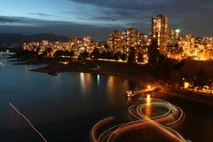 Urban Light Show Royalty Free Stock Photography