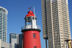 Urban Lighthouse, Rotterdam Royalty Free Stock Image