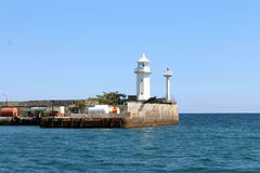 Urban lighthouse in Yalta Royalty Free Stock Photography