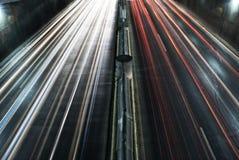 Urban lights w Stock Photo