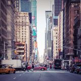 Urban living in Manhattan Royalty Free Stock Images