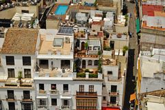 Urban living In Seville Spain Stock Photo