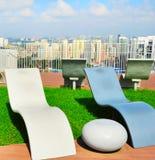 Urban lounge Stock Images
