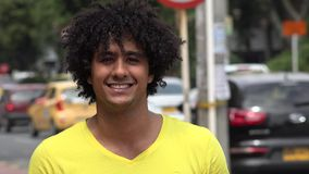 Urban Male, Man, City Resident stock video footage