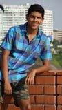 Urban Male Teen. A handsome teen hispanic boy Stock Photo