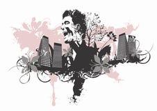 Urban man Stock Image