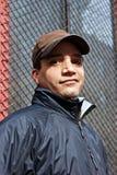 Urban man in cap Stock Photography