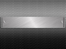 Urban Metal Background Royalty Free Stock Images