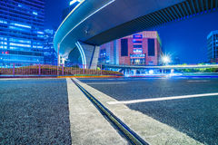 Urban modern buildings and roads Royalty Free Stock Photo