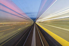 City Lights Motion Blur stock photos