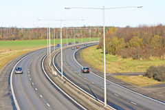 Urban motorway Stock Photography