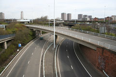 Urban motorway Stock Photo