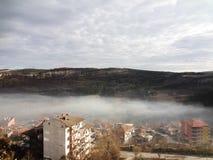 Urban mountain view Stock Image