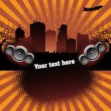 Urban music Royalty Free Stock Image