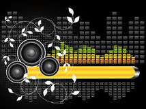 Urban Music Background Stock Image