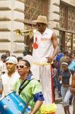 Urban musicians royalty free stock photos
