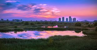Free Urban Nature, Delta Vacaresti From Bucharest,panorama View Stock Photos - 161661363