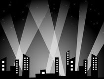Urban Night Royalty Free Stock Images