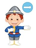 The urban officer 5 Royalty Free Stock Photography