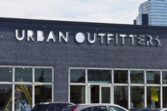 Urban Outfitters Retail Location I. Indianapolis - Circa June 2016: Urban Outfitters Retail Location. Urban Outfitters is a Chain with a Hipster Vibe Known for stock image
