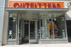 Urban Outfitters. An Urban Outfitters store in New York City stock photography