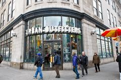 Urban Outfitters store royalty free stock photo