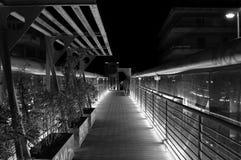Urban overpass at night Royalty Free Stock Photo