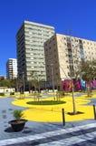 Urban park,Barcelona Royalty Free Stock Photo