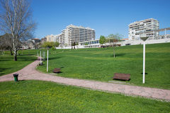 Urban Park Commander Julio Ferraz in Almada Royalty Free Stock Photos