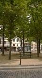 Urban park in Paris Stock Photos