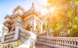 Urban park in Santiago, Chile Stock Photography