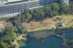 Urban park in Tokyo, Japan Stock Photo