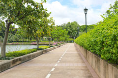 Urban parks or public benjakiti park in day time. Urban parks or public benjakiti park in day time,garden City Popular vacation destinations of Bangkok,Thailand stock photo