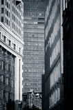 Urban patterns - Boston, USA Stock Photography
