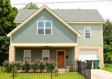 Urban Petite Single Family Home. Cute Inner City Urban Petite Single Family Home Royalty Free Stock Photo