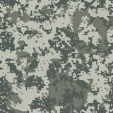 Urban pixel camouflage Stock Photos