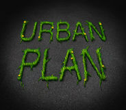 Urban Plan Stock Photo