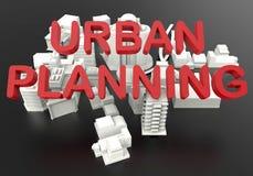Urban planning development concept royalty free illustration