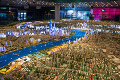 Urban Planning Exhibition Center Stock Photo