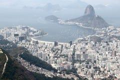 Urban pollution haze. In Rio de Janeiro, Brazil Stock Photography