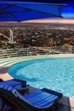 Urban pool indulgance Stock Image