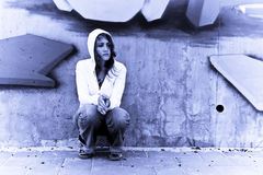 Urban portrait Stock Images