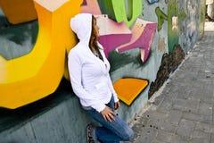 Urban portrait Royalty Free Stock Image