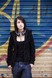 Urban portrait Stock Photography