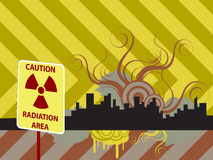 Urban Radiation Area Stock Images